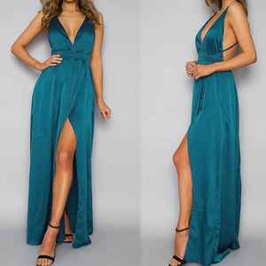 Beautiful Long Prom Maxi Dresses - Spring Summer Graduation Outfit Ideas - www.GlamantiBeauty.com