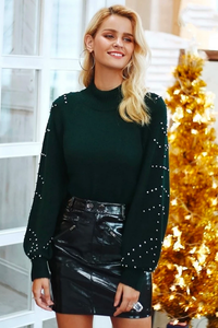 Classy & Cute Christmas Outfit Ideas for Women - ideas de trajes de otoño para mujeres - www.GlamantiBeauty.com #outfits