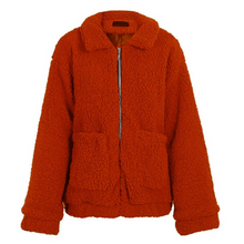 Aurora Popular Oversized Soft Comfy Sherpa Teddy Jacket Pixie Coat