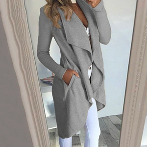 Classy Fall Waterfall Jacket Cute Outfit Ideas for Women - www.GlamantiBeauty.com
