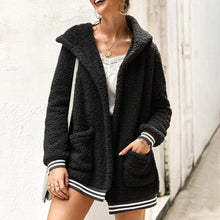 Cute Casual Winter Outfit Ideas for Women - Cozy Soft Sherpa Black Sweater Jacket - www.GlamantiBeauty.com