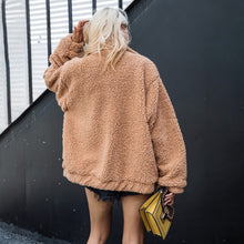 Cute Casual Warm Winter Outfit Ideas for School Trendy Sherpa Teddy Pixie I Am Gia Jacket for Women for Teen Girls -  lindas ideas de ropa casual de invierno para mujeres - www.GlamantiBeaty.con