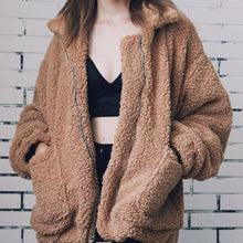 Cute Warm Winter Back to School Outfit Ideas for Teens for College - Aurora Popular Oversized Soft Comfy Sherpa Teddy Jacket Pixie Coat I am gia dupe - www.Glamantibeauty.com