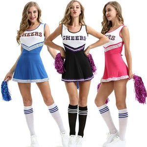 Cute Womens Cheerleader Halloween Costume Ideas - www.GlamantiBeauty.com