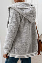 Cute Casual Winter Outfit Ideas for Women - Cozy Soft Sherpa Grey Sweater Jacket - www.GlamantiBeauty.com
