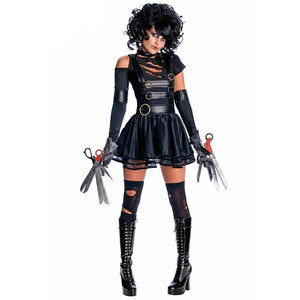 Edward Scissorhands Womens Halloween Costume - www.GlamantiBeauty.com
