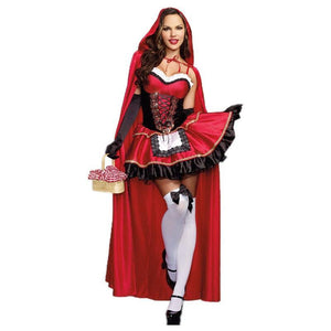 Sexy Little Red Riding Hood Womens Halloween Costume 2018 - www.GlamantiBeauty.com