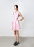 QUIN Cut Out Sides Dress (Blush Floral) at $ 17.90 only sold at And Well Dressed Online Fashion Store Singapore