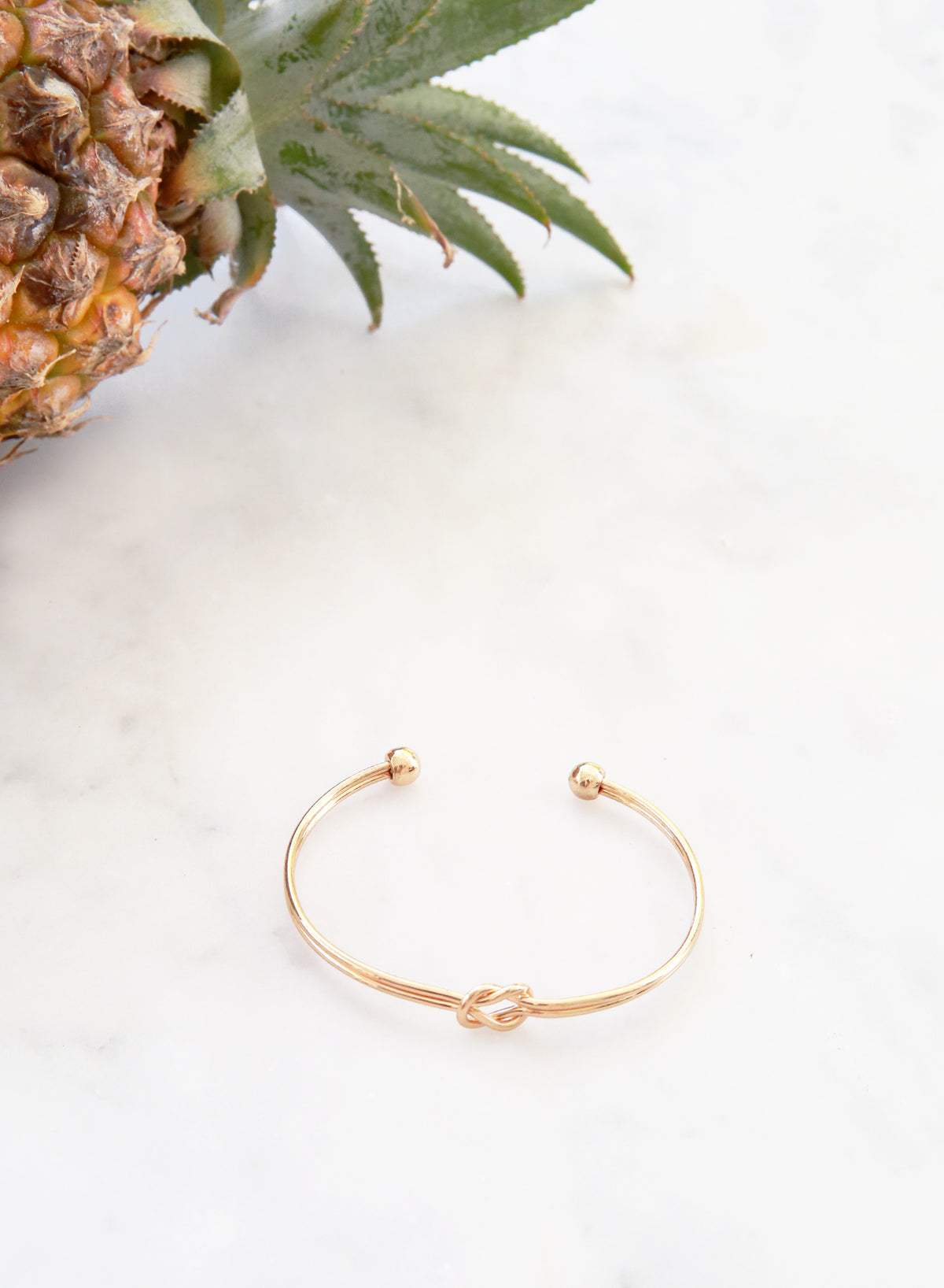 Nadie Double Knotted Cuff (Gold)