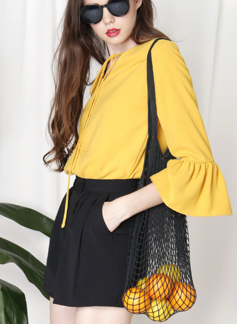 Drew Weave Net Bag (Black) at $ 19.50 only sold at And Well Dressed Online Fashion Store Singapore