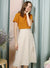 ENTWINE Lace Up Linen Skirt (Sand) at $ 38.00 only sold at And Well Dressed Online Fashion Store Singapore