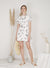 Sundial Wrap Front Flare Dress (White) at $ 44.50 only sold at And Well Dressed Online Fashion Store Singapore