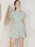 Sundial Wrap Front Flare Dress (Sage) at $ 44.50 only sold at And Well Dressed Online Fashion Store Singapore