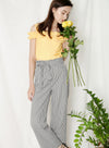 Fixate Paperbag Pants (Gingham) at $ 39.50 only sold at And Well Dressed Online Fashion Store Singapore