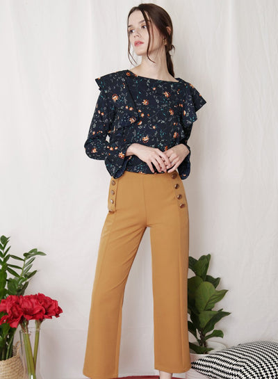 REBEL Sailor Pants (Camel) - And Well Dressed