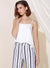 Gleam Button Front Silk Top (White) at $ 29.90 only sold at And Well Dressed Online Fashion Store Singapore