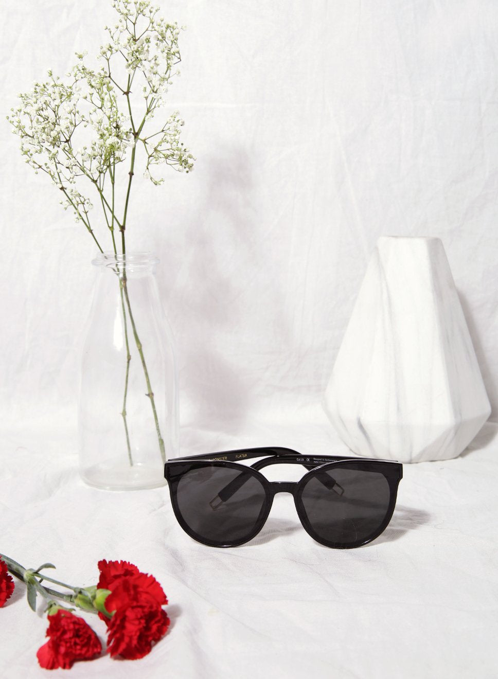 Hallie Round Framed Sunnies at $25.00 only sold at And Well Dressed Online Fashion Store Singapore