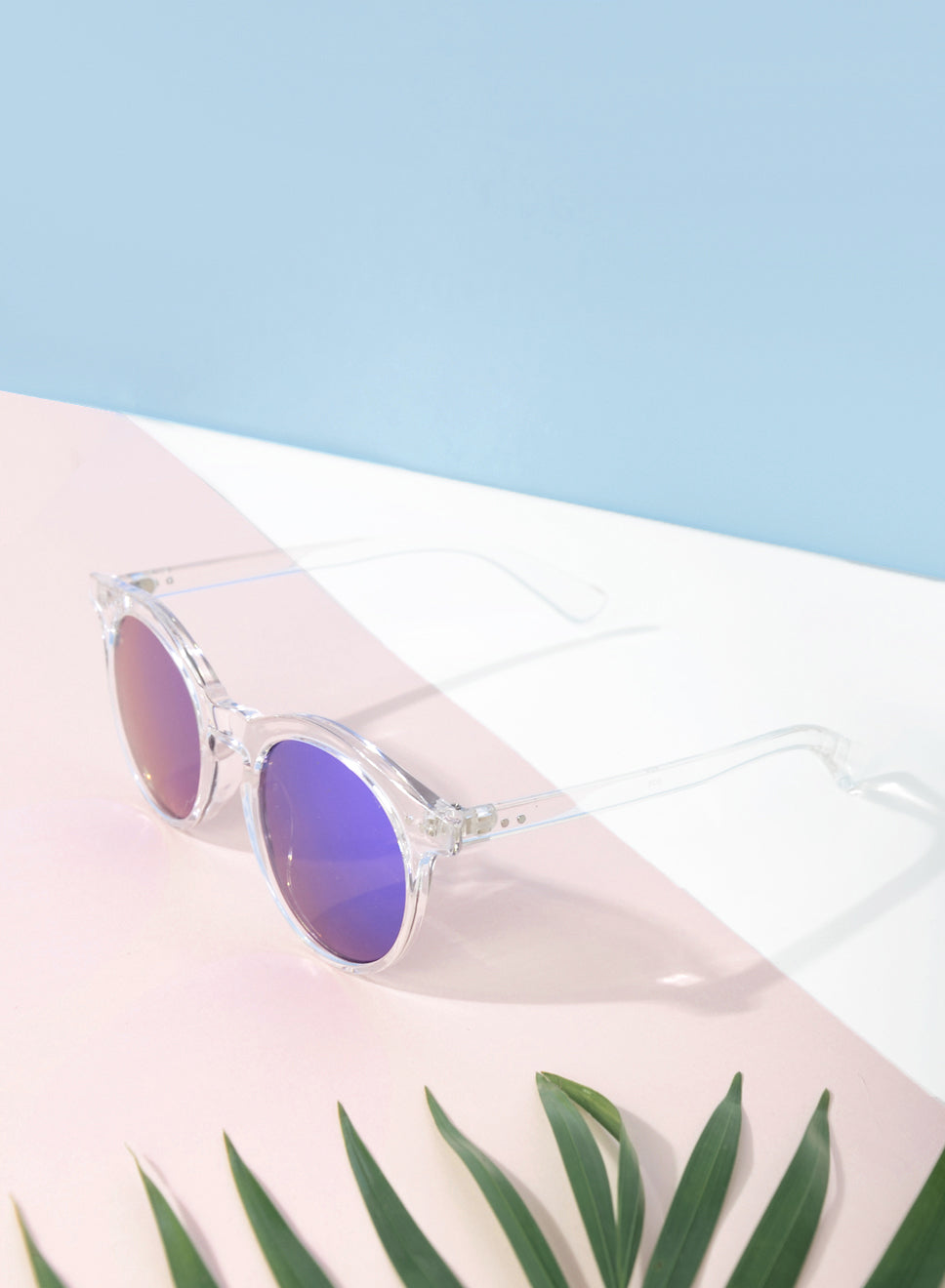 MASON CLEAR RIM MIRROR SUNNIES at $ 22.50 only sold at And Well Dressed Online Fashion Store Singapore