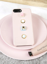 GEOMETRICS iPhone Case (Blush) at $ 16.90 only sold at And Well Dressed Online Fashion Store Singapore
