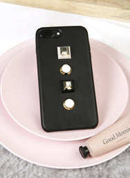 GEOMETRICS iPhone Case (Black) at $ 16.90 only sold at And Well Dressed Online Fashion Store Singapore