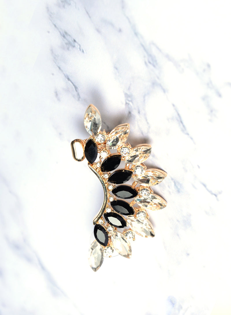 EDEN EMBELLISHED EAR CUFF (GOLD) at $ 12.00 only sold at And Well Dressed Online Fashion Store Singapore
