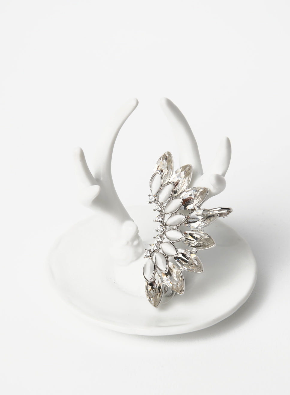 EDEN EMBELLISHED EAR CUFF (SILVER) at $ 12.00 only sold at And Well Dressed Online Fashion Store Singapore