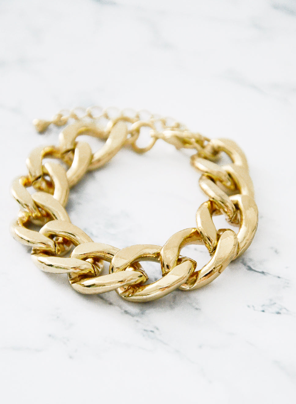 LYNX CHAIN BRACELET (GOLD) at $ 7.00 only sold at And Well Dressed Online Fashion Store Singapore
