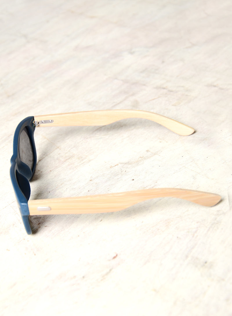 NOLA WOODEN SIDES SUNNIES (NAVY) at $ 14.00 only sold at And Well Dressed Online Fashion Store Singapore