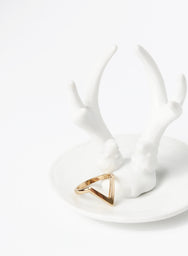 RIA THICK ARROW RING (GOLD) at $ 6.00 only sold at And Well Dressed Online Fashion Store Singapore