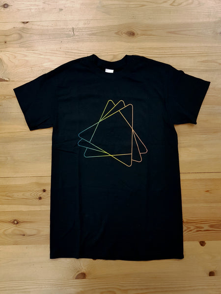 RYH Limited Edition Coloured Triangle T-Shirt in Black