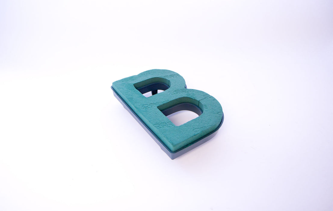 "Oasis Floral Foam Letter with Clips ""B"""