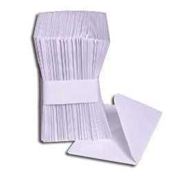 Full Pack of 100 White Envelopes