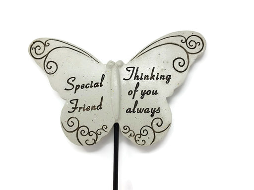 Butterfly Memorial Stick - Special Friend