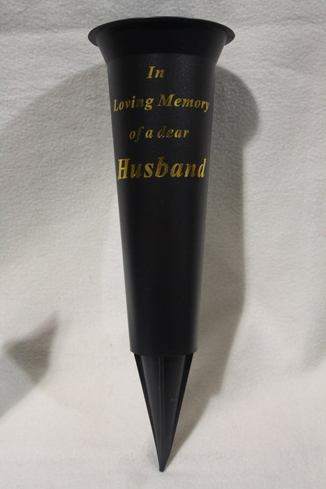 Grave Vase Spike In Loving Memory Husband