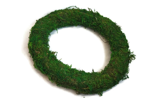 Green Moss Padded Wreath Ring x 12 inches