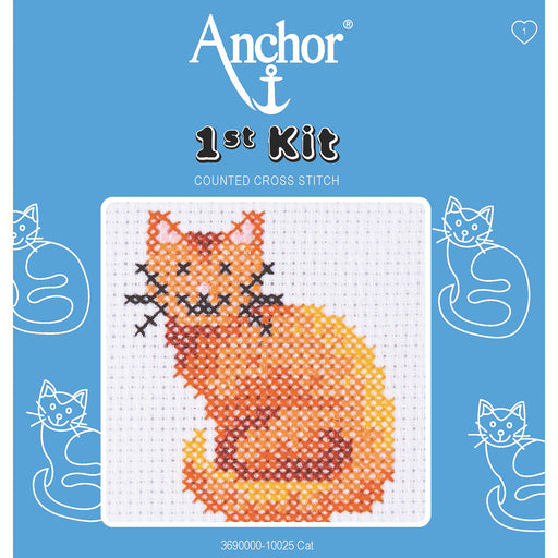 My First Cross Stitch Kit - Cat