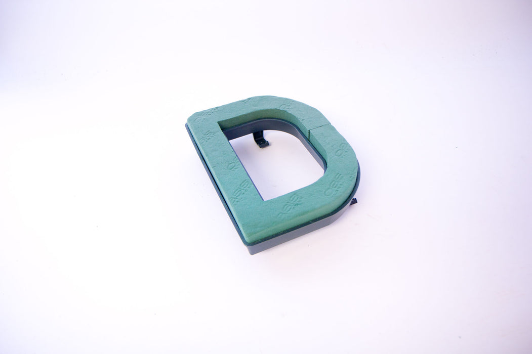 "Oasis Floral Foam Letter with Clips ""D"""