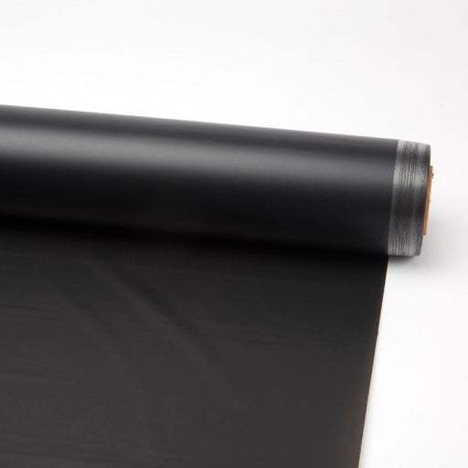 80m x 80cm Frosted Cellophane Roll - Black