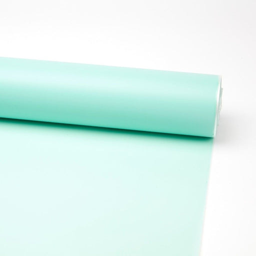 80m x 80cm Frosted Cellophane - Duck Egg Blue