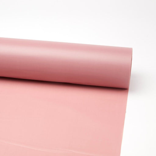 80m x 80cm Frosted Cellophane Roll - Mauve