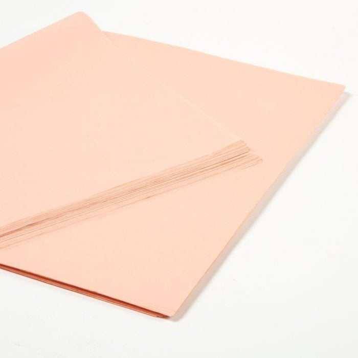 Full Ream of Tissue Paper Peach 240 sheets