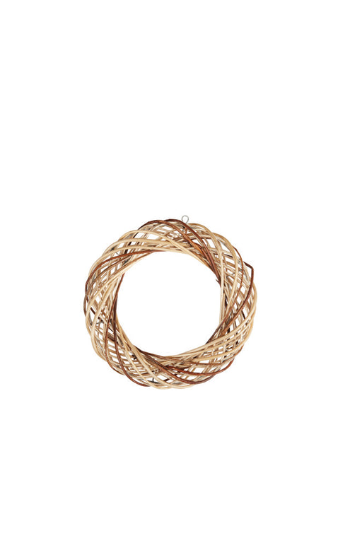 Vostok Range Rattan Wreath - 30cm Natural
