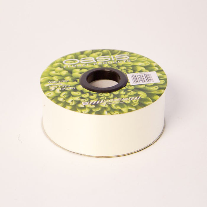"Cream Florist Poly Ribbon - 100 yards - 2"" Wide"