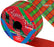Tartan Poly Ribbon - 50mm x 50m
