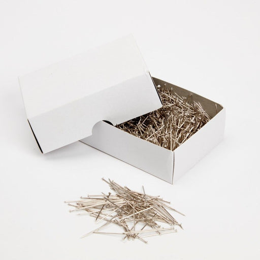 "Box of Silver Steel Pins x 3cm/1"" - 500g"