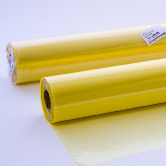 100m x 80cm Tinted Yellow Cellophane Roll