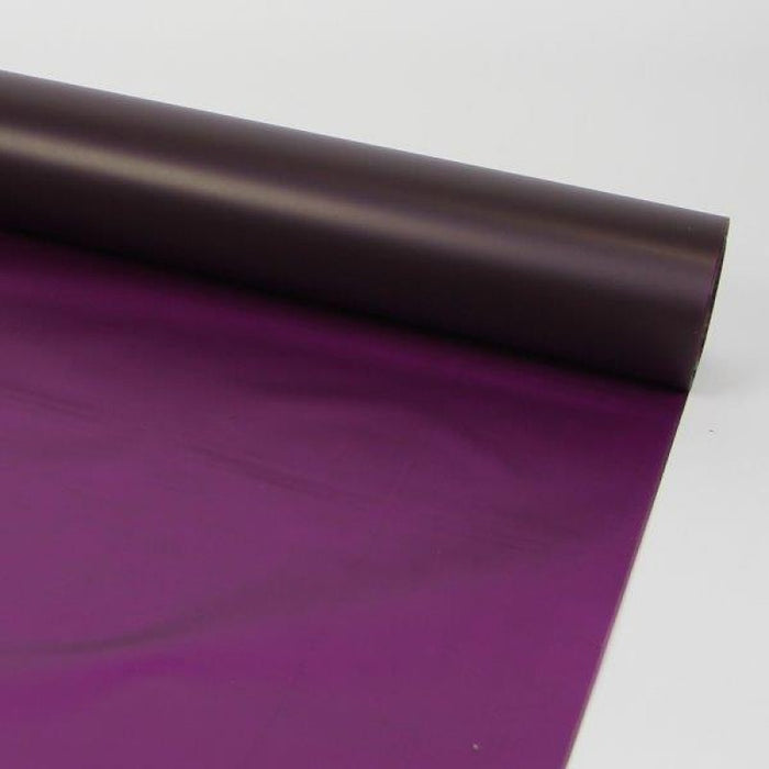 80m x 80cm Frosted Cellophane - Purple