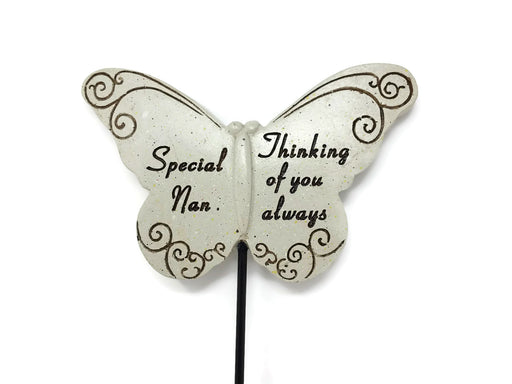 Butterfly Memorial Stick - Special Nan