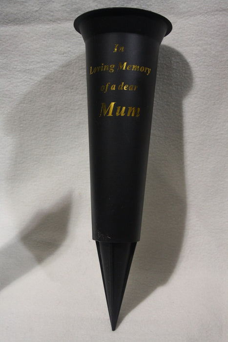 Grave Vase Spike In Loving Memory Mum