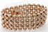 Narrow Pearl Corsage Bracelet - Rose Gold